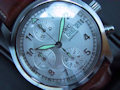 IWC SPITFIRE CHRONOGRAPH STAHL AUTOMATIC WEISS